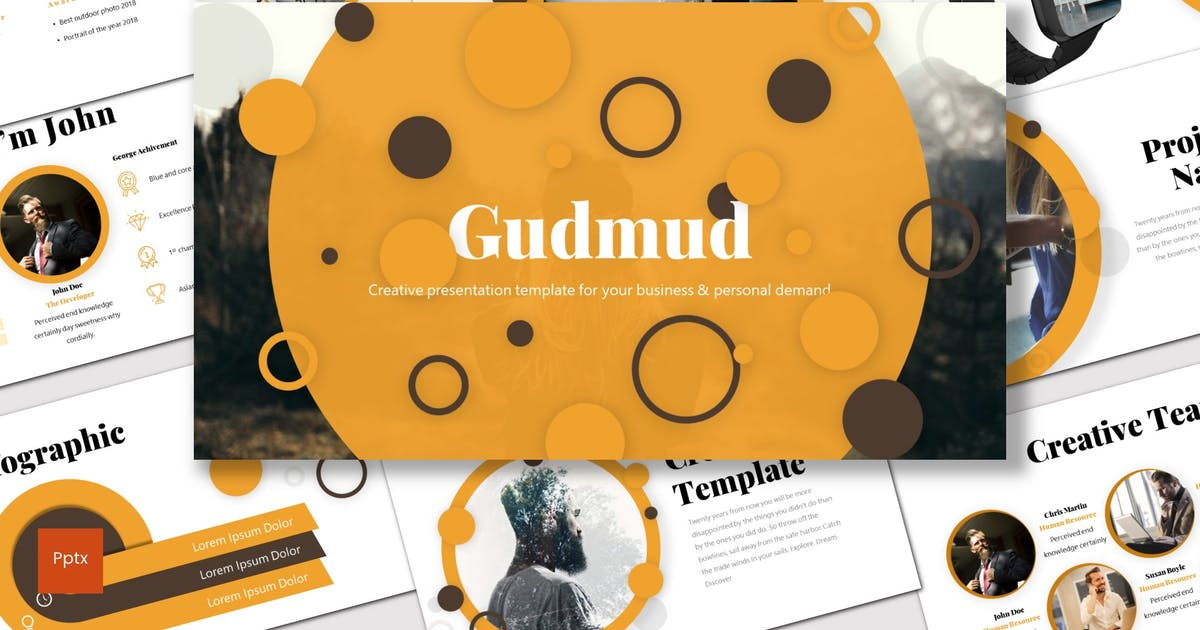 Gudmud - Powerpoint Template by inspirasign