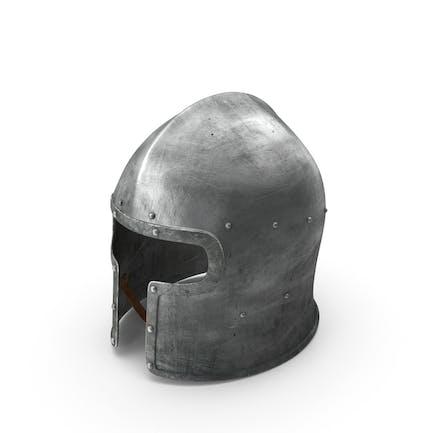 Casco medieval Barbuta