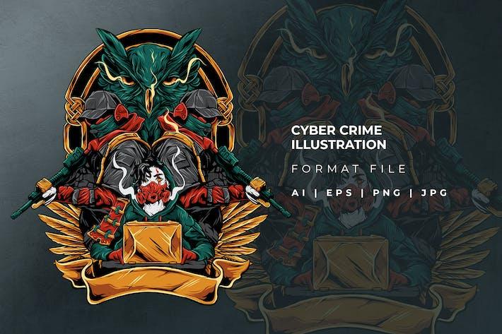 Abbildung der Cyberkriminalität