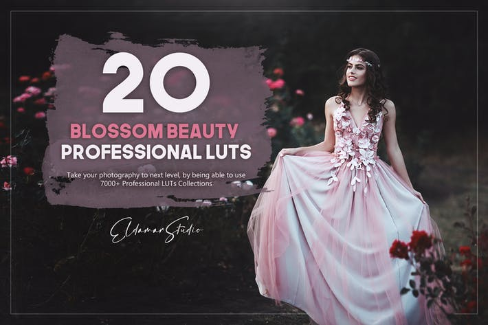 Набор из 20 Blossom Beauty LUT