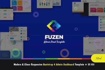 Fuzen - Bootstrap 4 Admin Template + UI Kit