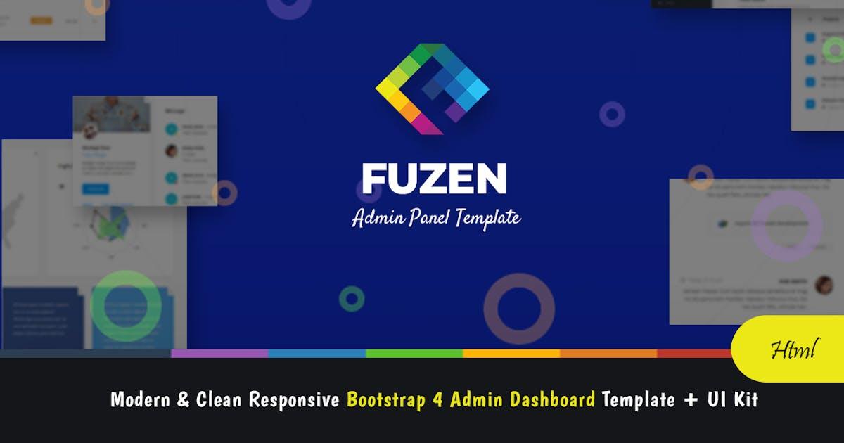 Download Fuzen - Bootstrap 4 Admin Template + UI Kit by websroad