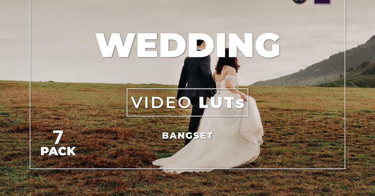 Download Bangset Wedding Pack 7 Video LUTs by Bangset