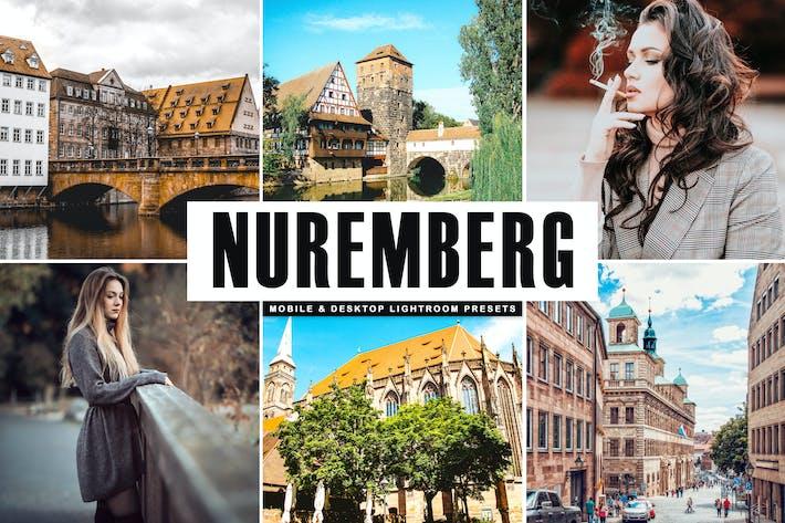 Thumbnail for Nuremberg Mobile & Desktop Lightroom Presets