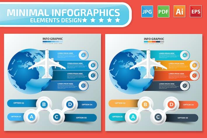 Thumbnail for Travel Infographics design