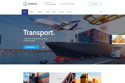 GlobeCo - Transportation & Logistics WordPress The