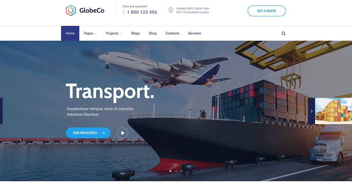 Download GlobeCo - Transportation & Logistics WordPress The by CreativeWS