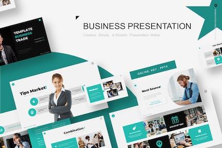 Business Trade Presentation Template