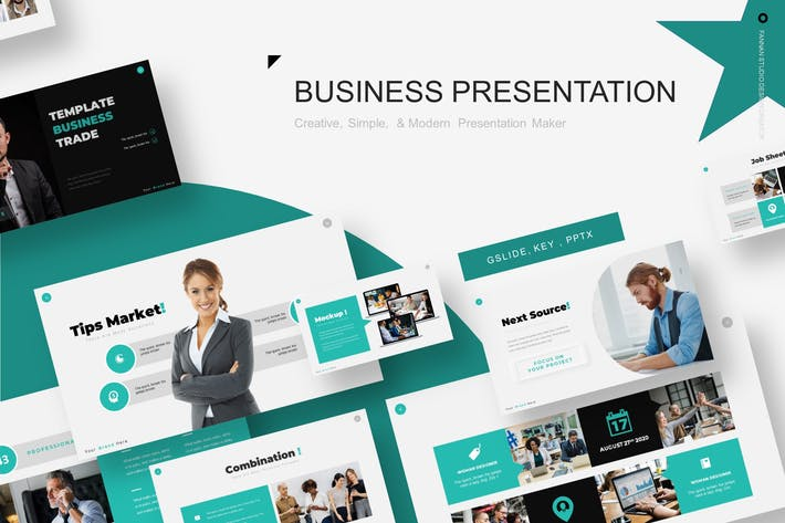 Business Trade Presentation Template