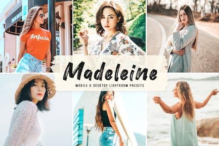Madeleine Mobile & Desktop Lightroom Presets