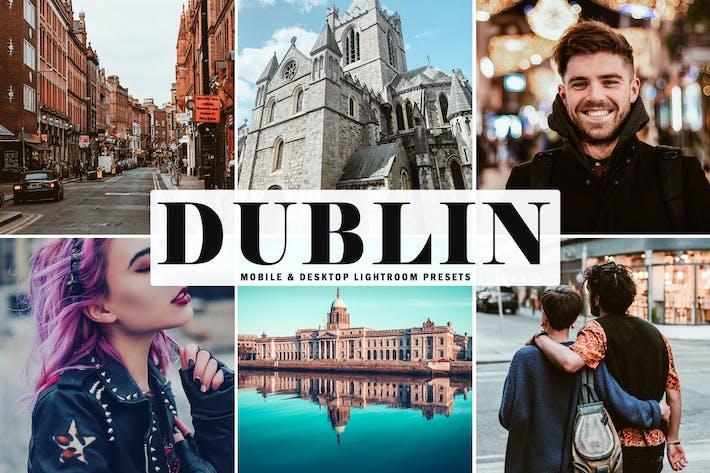Thumbnail for Ajustes preestablecidos para salas de iluminación móviles y de escritorio de Dublín