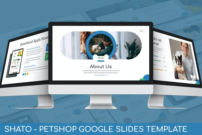 Thumbnail for Shato - Petshop Google Slides Template