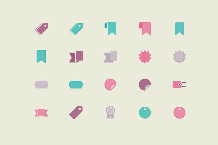 Thumbnail for Labels & Tags Color Icons