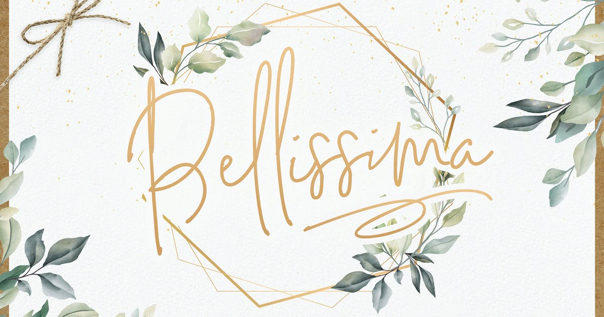 Download Bellissima Signature Script Font by Layerform