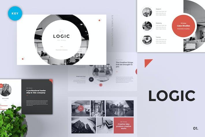 Thumbnail for Logic - Pitch Deck Keynote Template