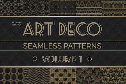 Art Deco Seamless Patterns Vol 1