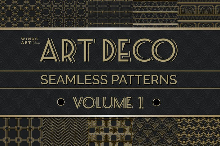 Thumbnail for Art Deco Seamless Patterns Vol 1