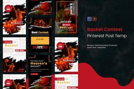 Basket Contest   Pinterest Post Template