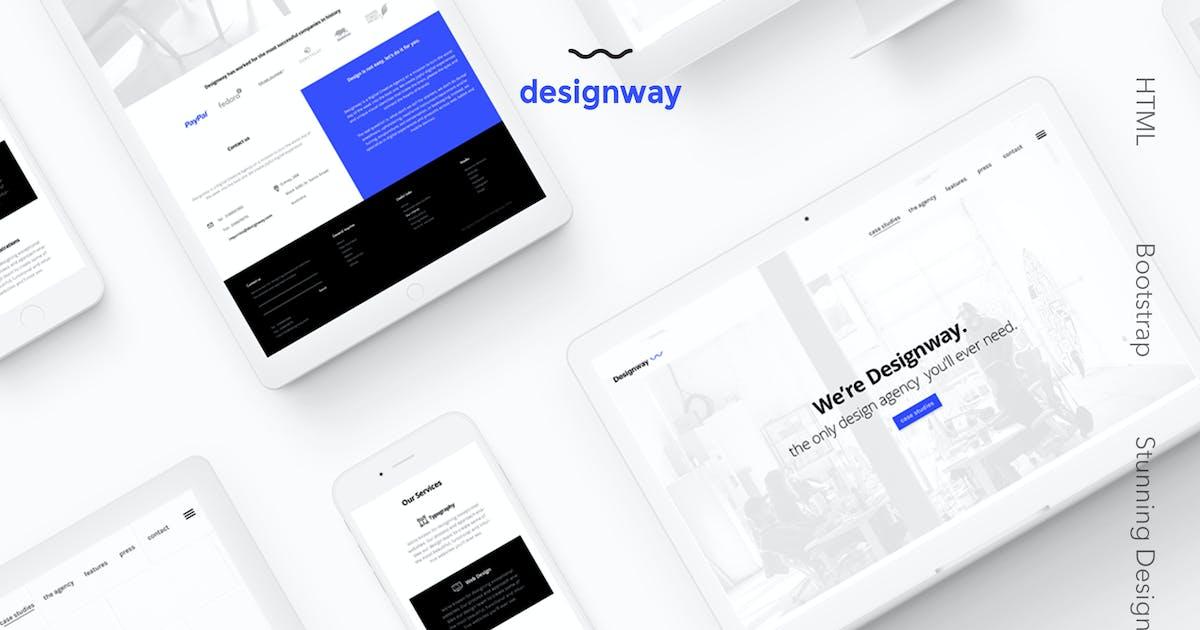 Download Designway — Design Agency HTML Template by brandio