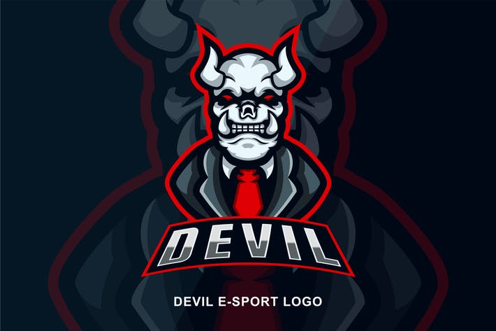 Thumbnail for Devil E-sport Logo