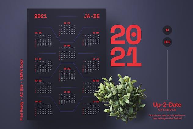 Calendar | Space | 2021