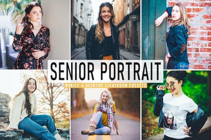 Thumbnail for Senior Portrait Mobile & Desktop Lightroom Presets