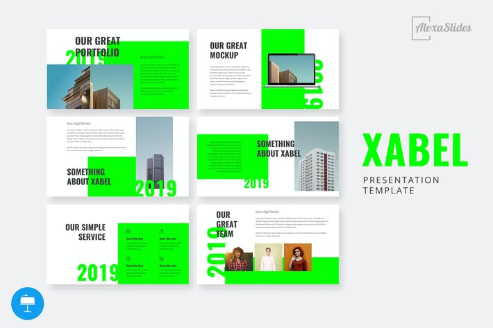 Thumbnail for Xabel - Keynote Presentation Template