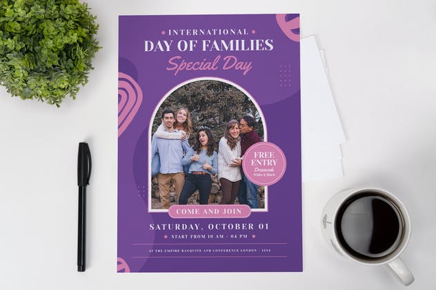 Families Day Flyer