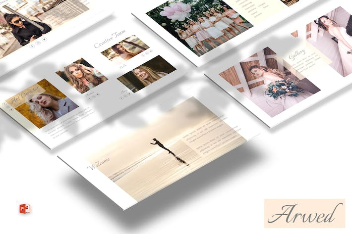 Thumbnail for Arwed - Powerpoint Template