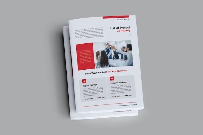Thumbnail for Business Creative Brochure