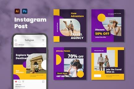 Travel Agency Instagram Post