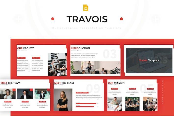 Thumbnail for Travois - Google Slides Template