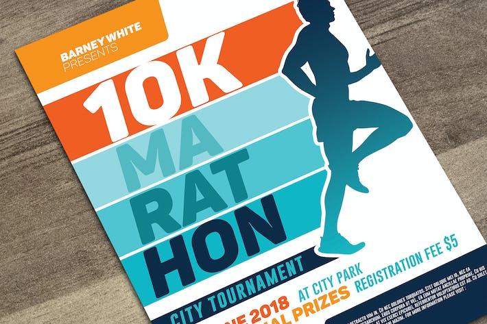 Marathon-Flyer bearbeiten