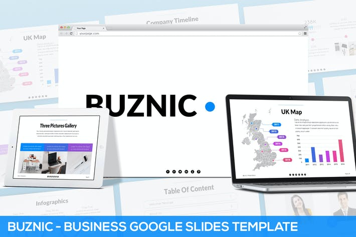 Thumbnail for Buznic - Business Google Slides Template