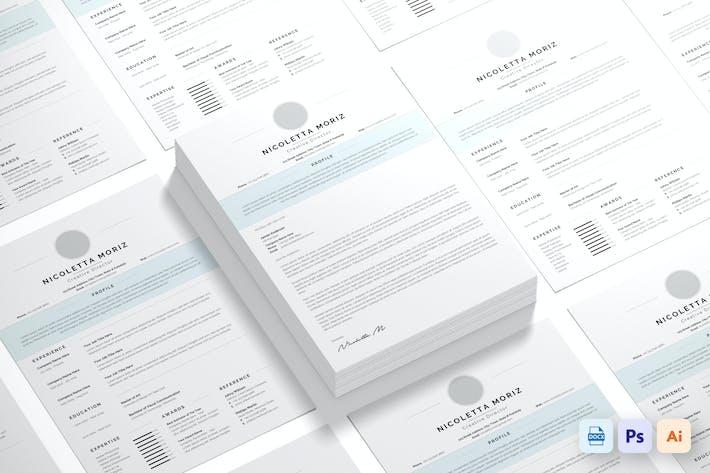 Thumbnail for Minimalist Resume CV