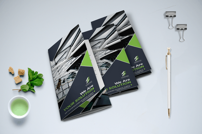 Cover Image For Trifold Modern Brochure