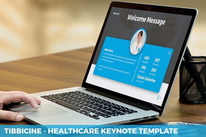Tibbicine - Шаблон Keynote для здравоохранения