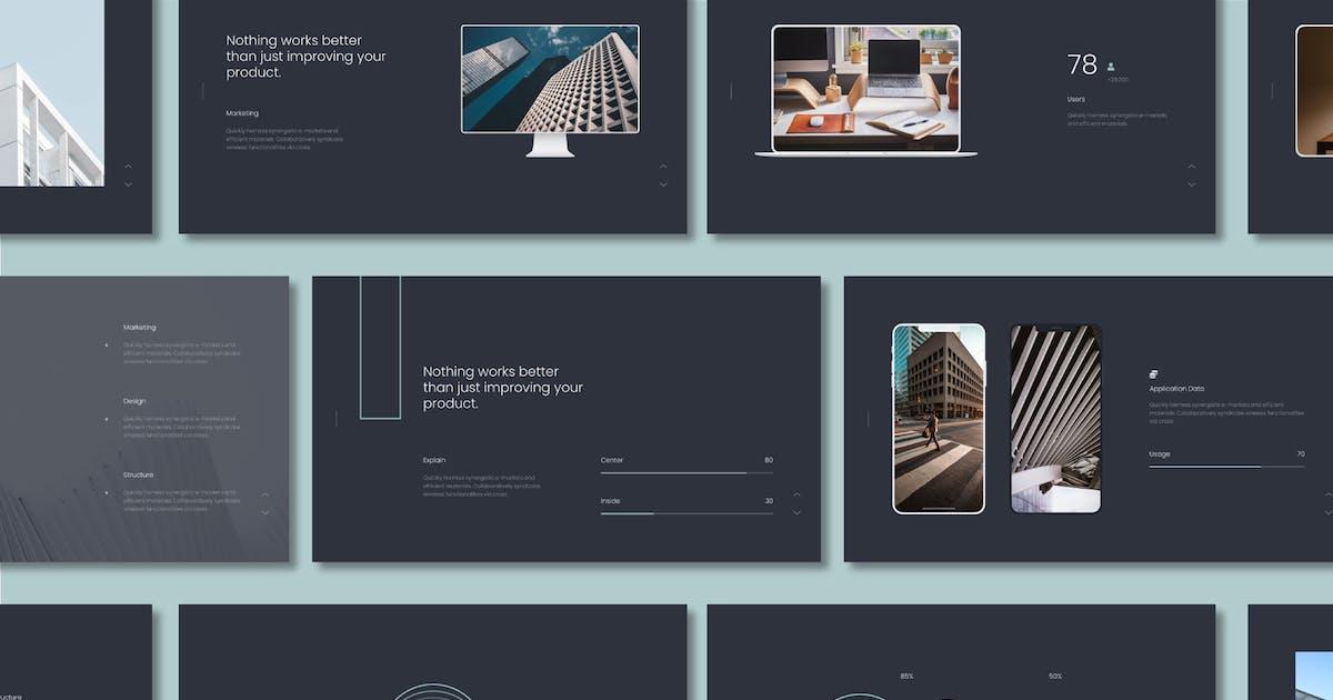 Download Onil Simple & Minimal Presentation Powerpoint by Fourtyonestd