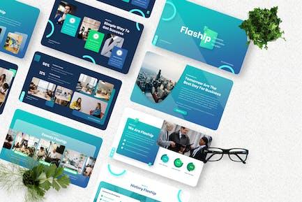 Flaship - Corporate Keynote Templates