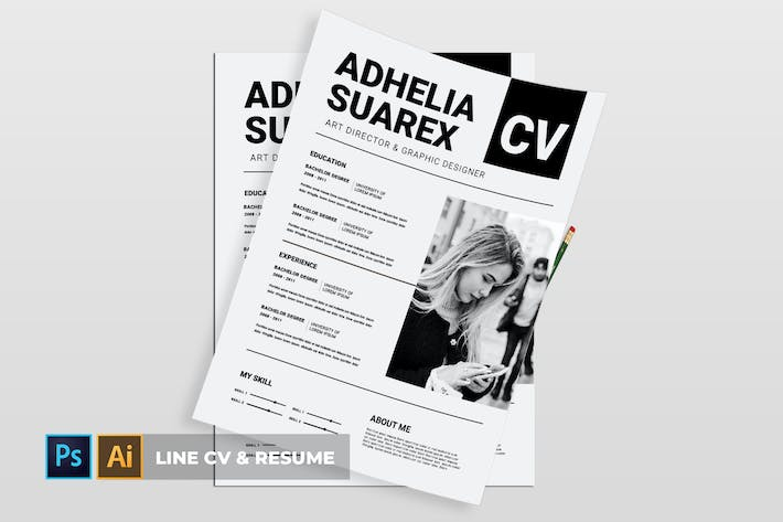 Thumbnail for Line | CV & Resume
