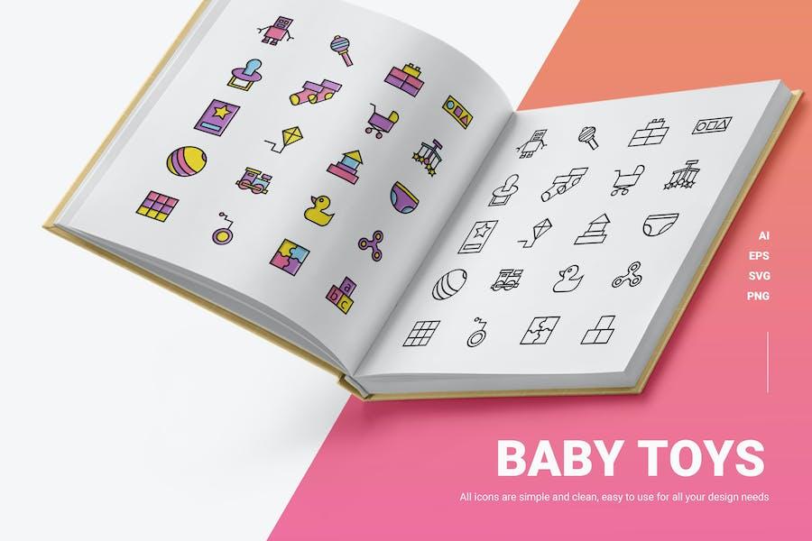Baby Spielzeug - Icons