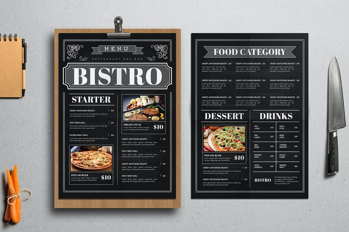 Thumbnail for Blackboard Food Menu