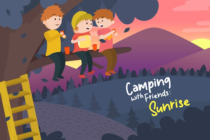 Thumbnail for Sunrise - Vector Illustration