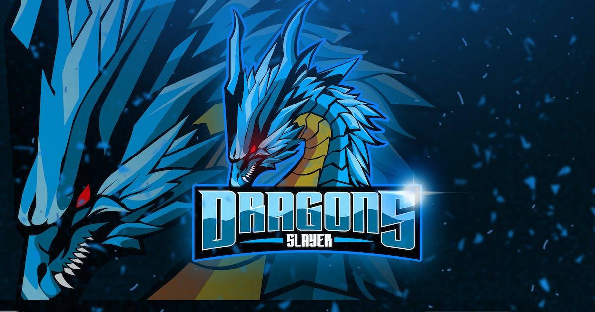 Dragons - Mascot & Esport Logo by aqrstudio