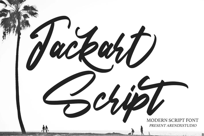 Thumbnail for Jackart - Fuente de escritura moderna