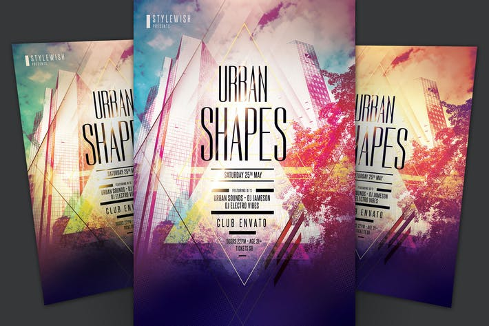 Thumbnail for Urban Shapes Flyer