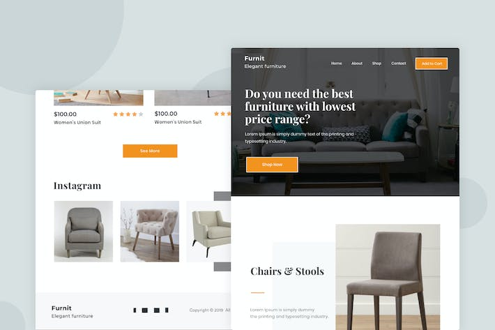 Thumbnail for Furniture - Email Newsletter