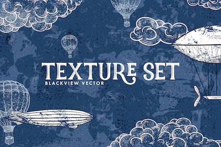 Blackview Vektor -Textur Set