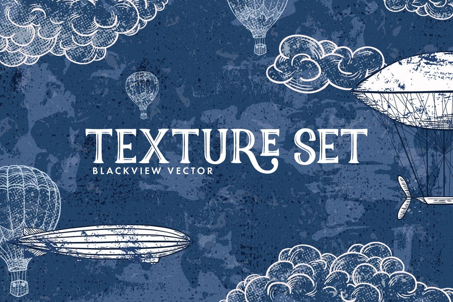 Blackview Vector Texture Set