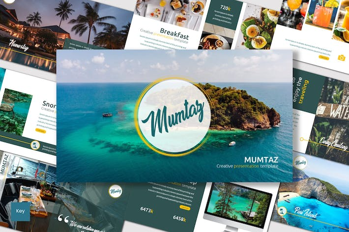 Cover Image For Mumtaz - Keynote Template